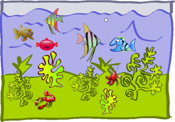 Aquarium clipart animated. Free