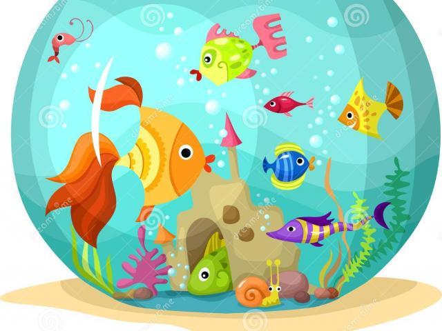 Aquarium clipart animated. Fish tank free on
