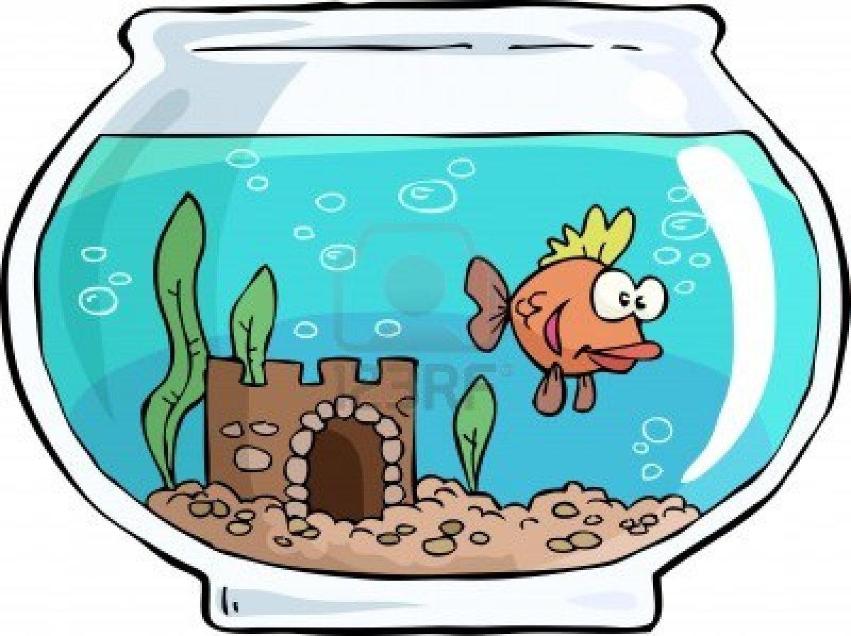 Fish tank pencil and. Aquarium clipart animated