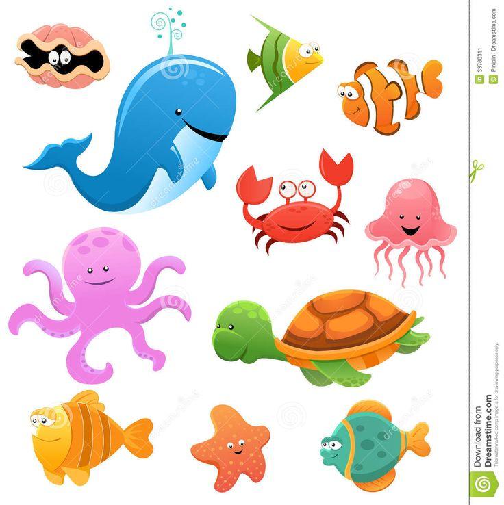 Aquarium clipart aquarium animal. Pencil and in color