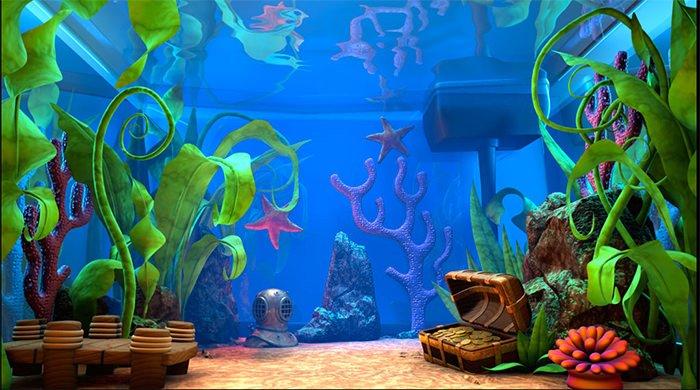 Aquarium clipart aquarium background. Portal