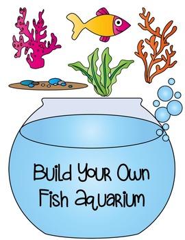 Build a fish commercial. Aquarium clipart aquarium building