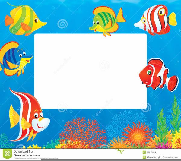 Aquarium clipart border. Coral free images at