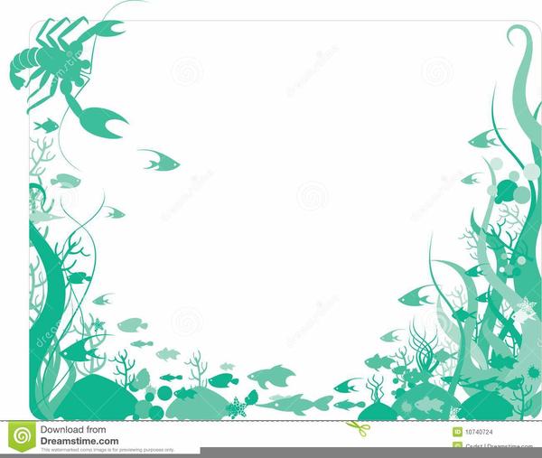 Free images at clker. Aquarium clipart border
