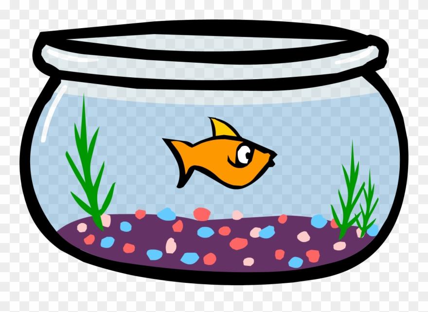 Png fish in a. Aquarium clipart bowl