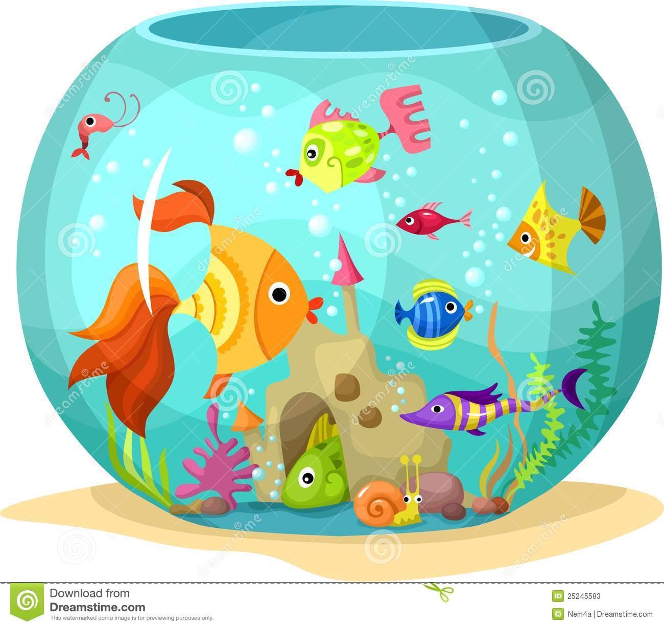 aquarium clipart cute