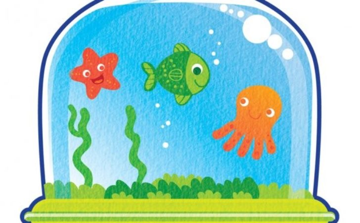 Awesome fish pictures designs. Aquarium clipart drawing