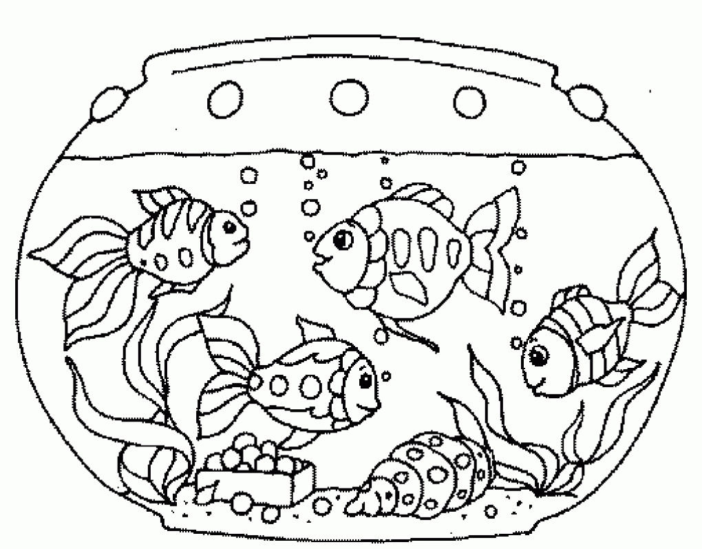 Fish at paintingvalley com. Aquarium clipart drawing