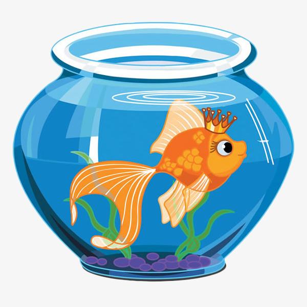 Keep in the goldfish. Aquarium clipart fish bowl