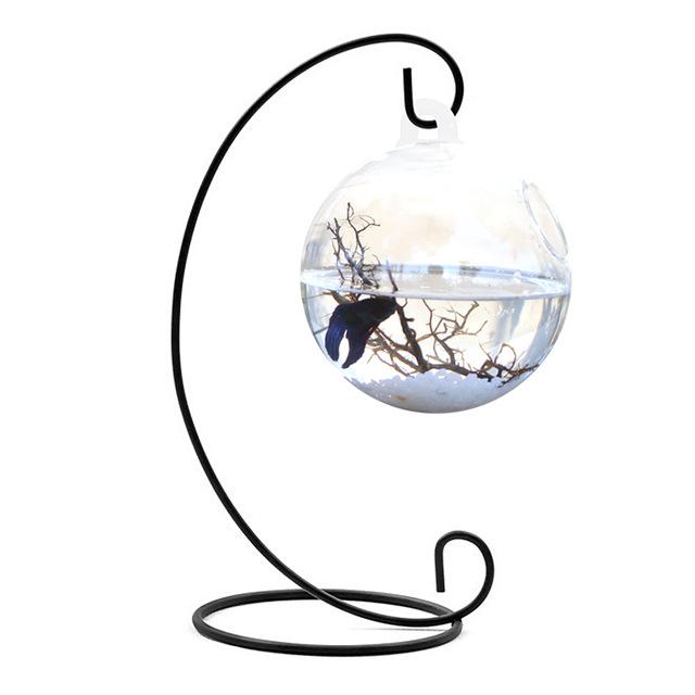 Aquarium clipart fish bowl. Behokic clear round shape
