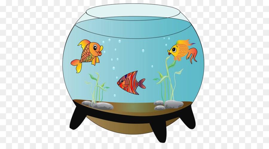 Carassius auratus siamese fighting. Aquarium clipart fish bowl
