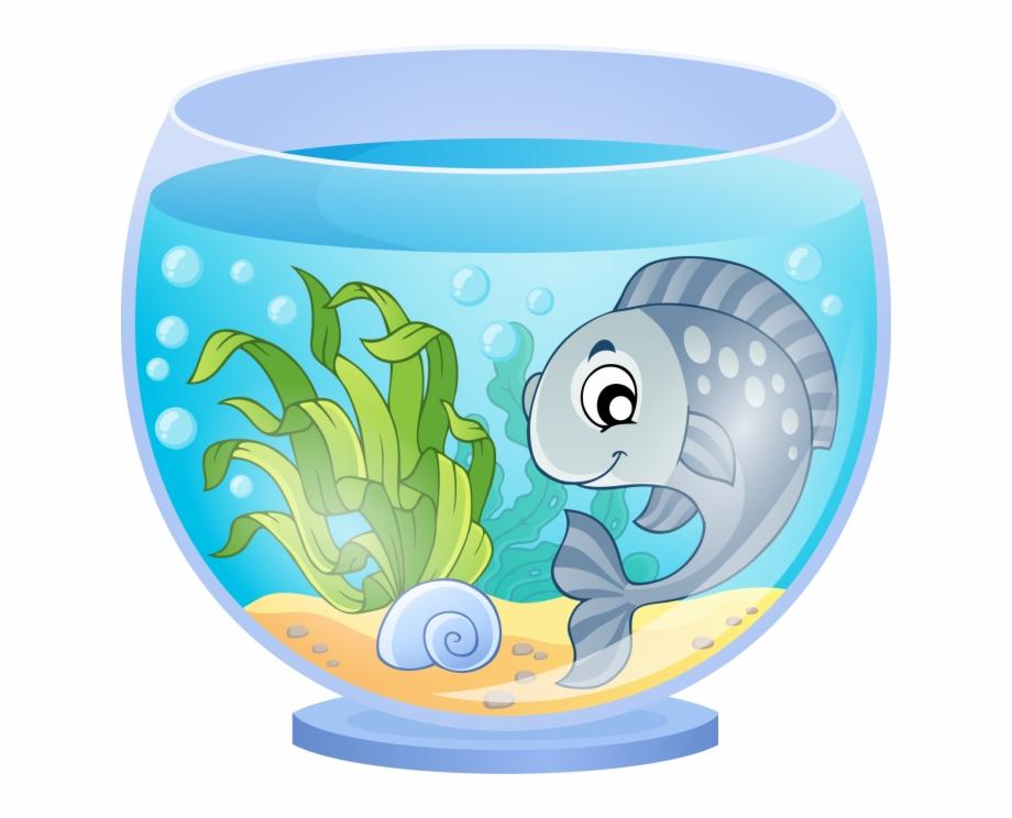Aquarium clipart fish bowl. Png in a tank