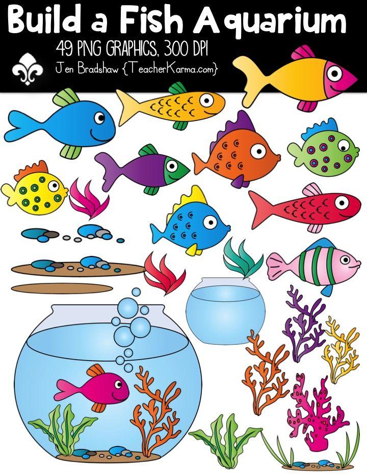 Aquarium clipart fish tank. Build a commercial use