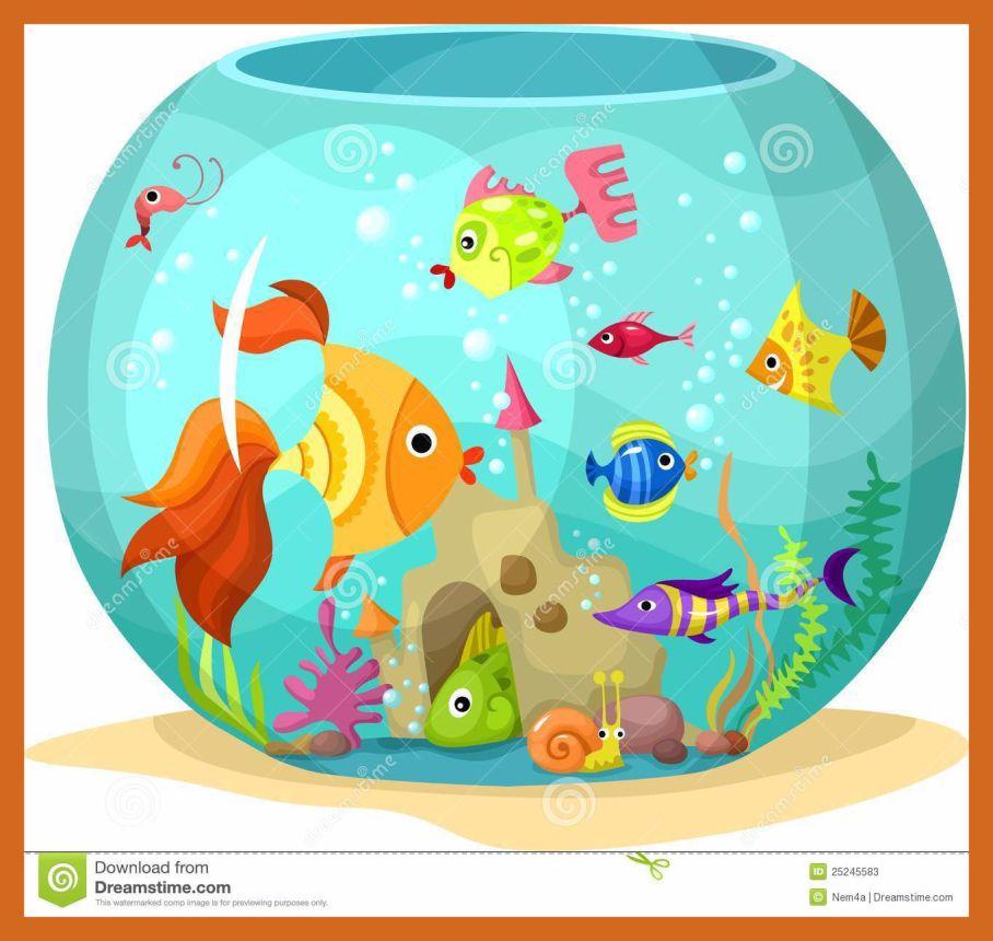 Aquarium clipart fish tank. Unbelievable illustration pop up
