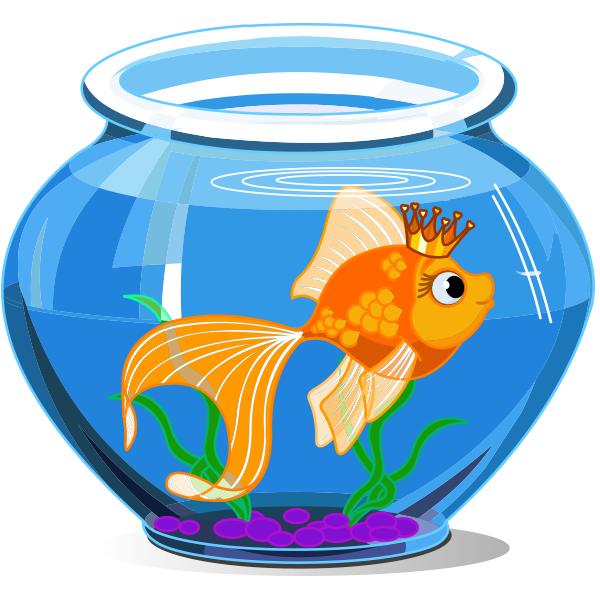 Aquarium clipart goldfish bowl. Royal royals and clip