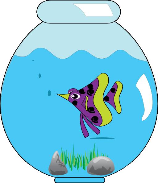 Fishbowl clipart fish bowl. In clip art clipartbarn