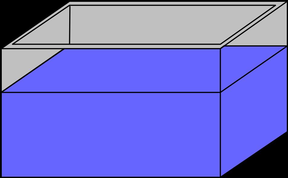Empty fish tank clip. Aquarium clipart rectangle