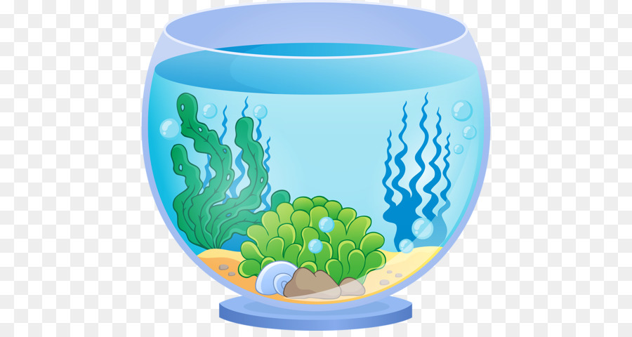 Fish cartoon illustration product. Aquarium clipart transparent