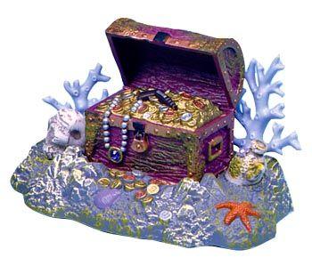 Aquarium clipart treasure chest.  best under the