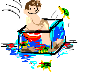 aquarium clipart turtle
