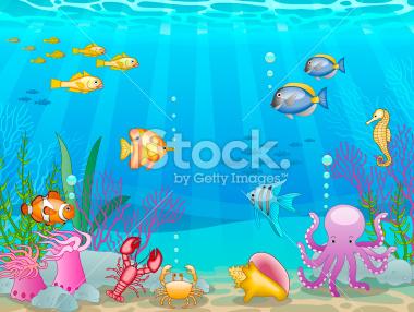aquarium clipart underwater