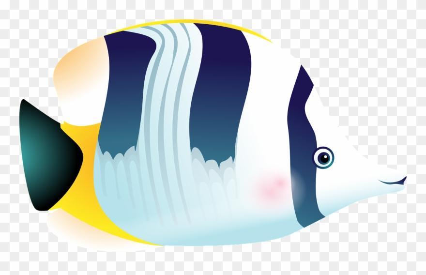 Aquarium clipart vector. Fish tropical sea tank