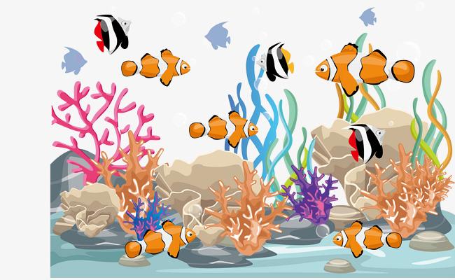 Aquarium clipart vector. Fish swimming png and
