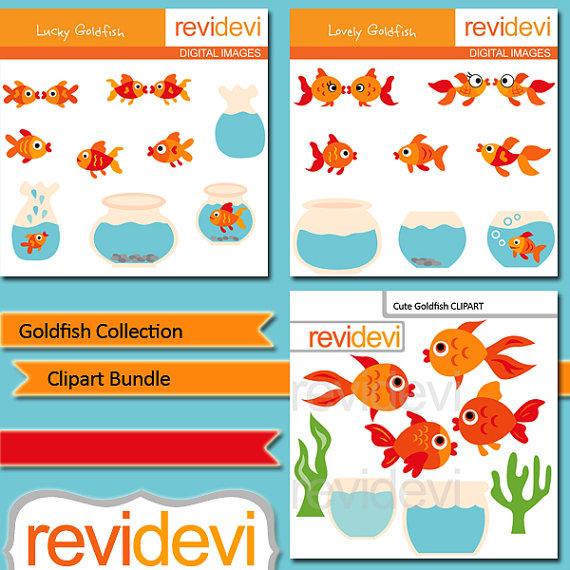 Goldfish sale bundle gold. Aquarium clipart word
