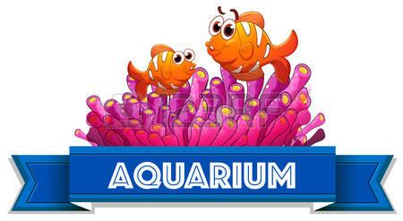 Wfe took a trip. Aquarium clipart word
