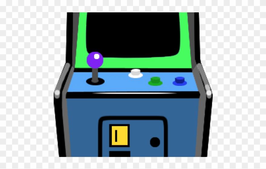 Arcade clipart arcade game. Upload button machine clip