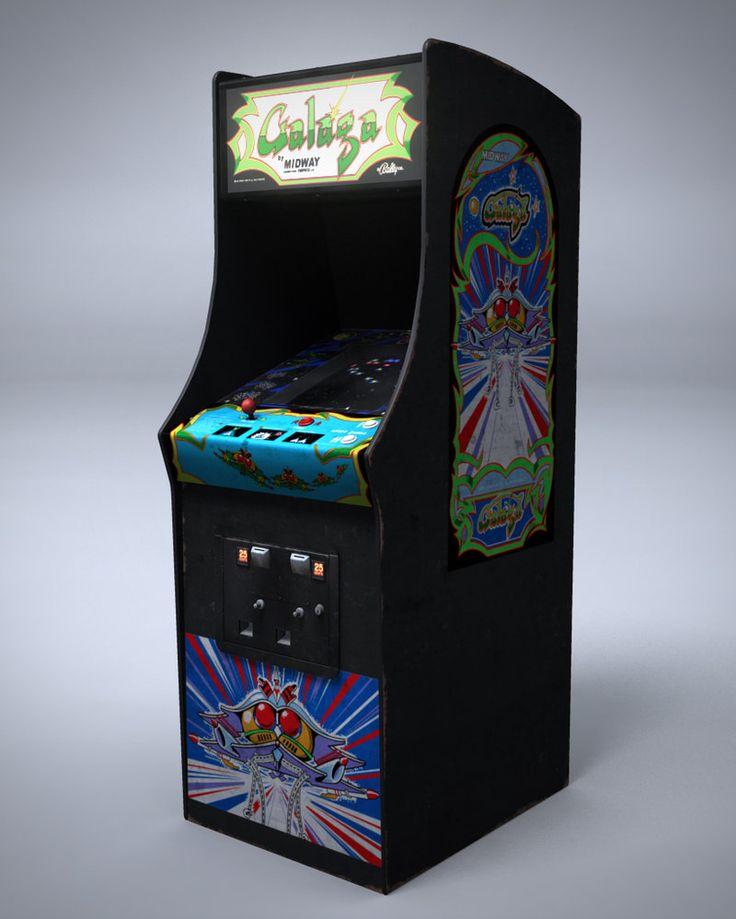 Arcade clipart arcade screen.  best galaga images