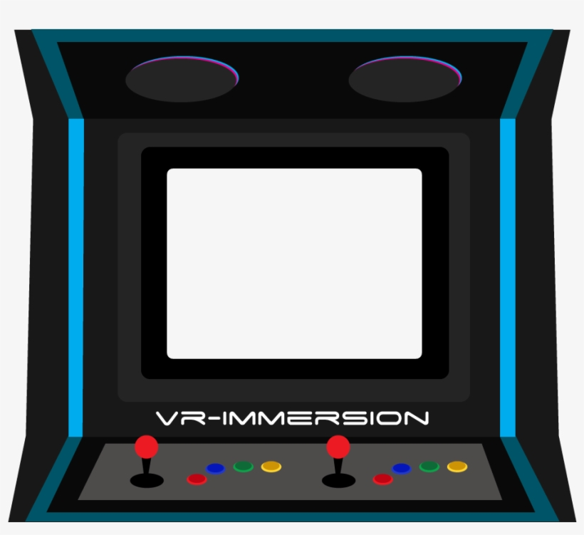 Arcade clipart arcade screen. Svg black and white