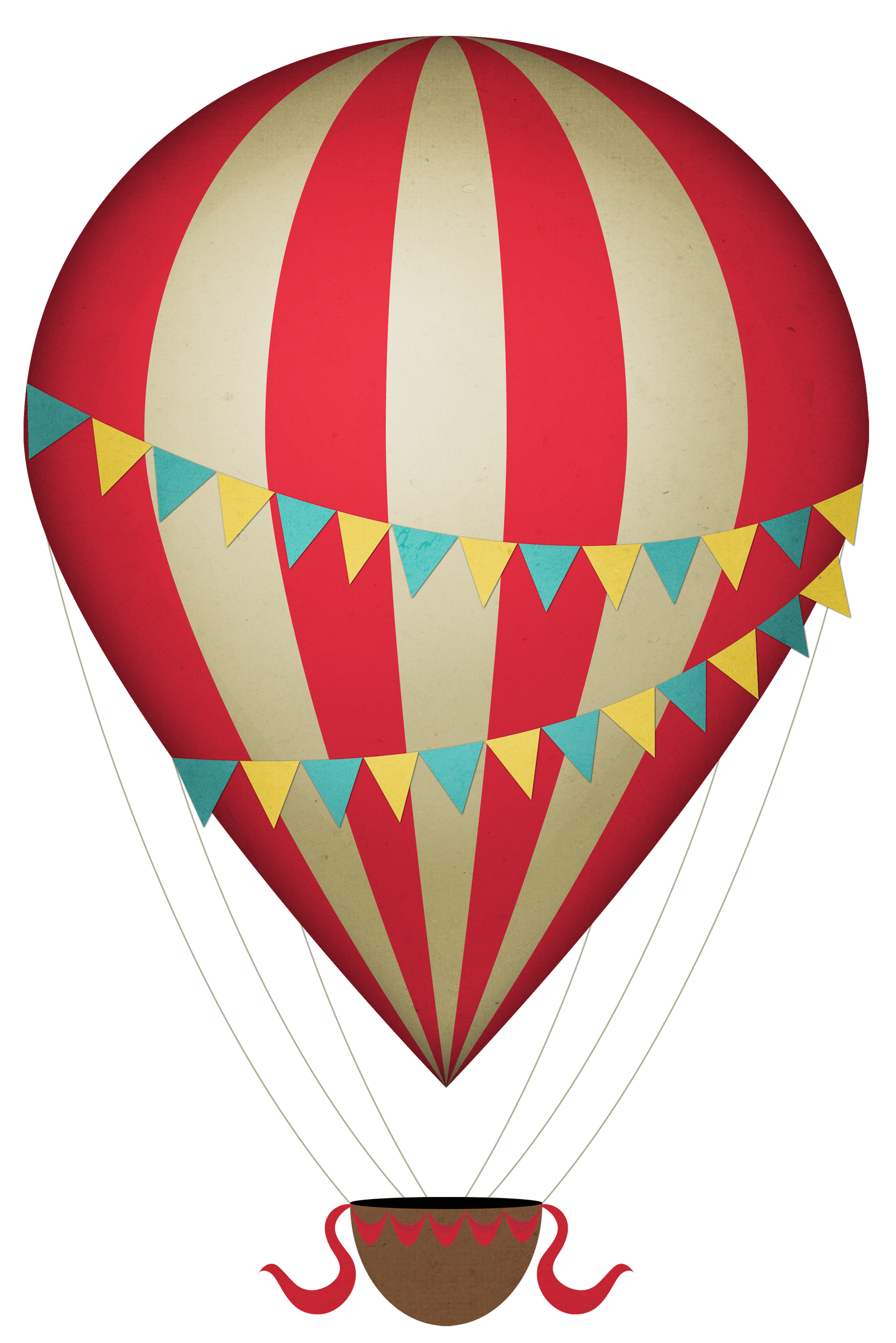 Hot air up inspiration. Clipart balloon vintage