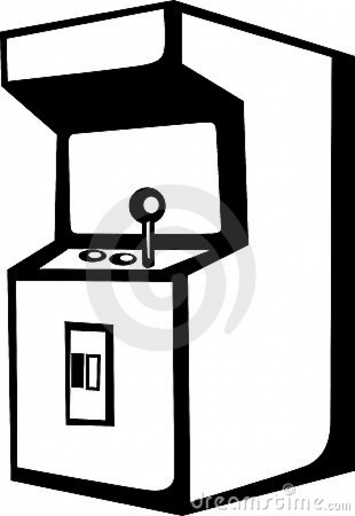 Free download best on. Arcade clipart black and white