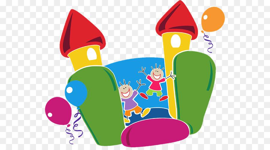 Inflatable castle clip art. Games clipart