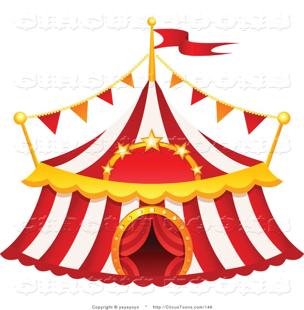 Pictures clip art of. Clipart tent circus circus