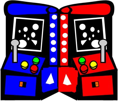 Game clipart game room. Free arcade cartoon clipartmansion