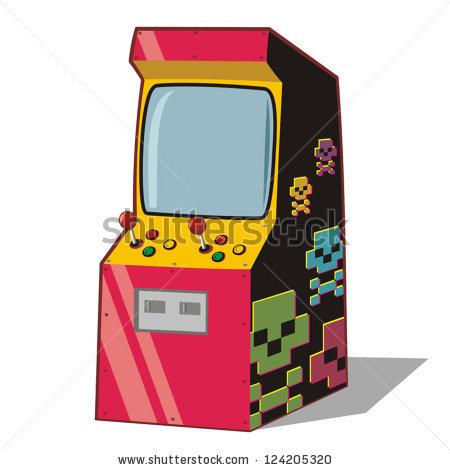 arcade clipart cartoon