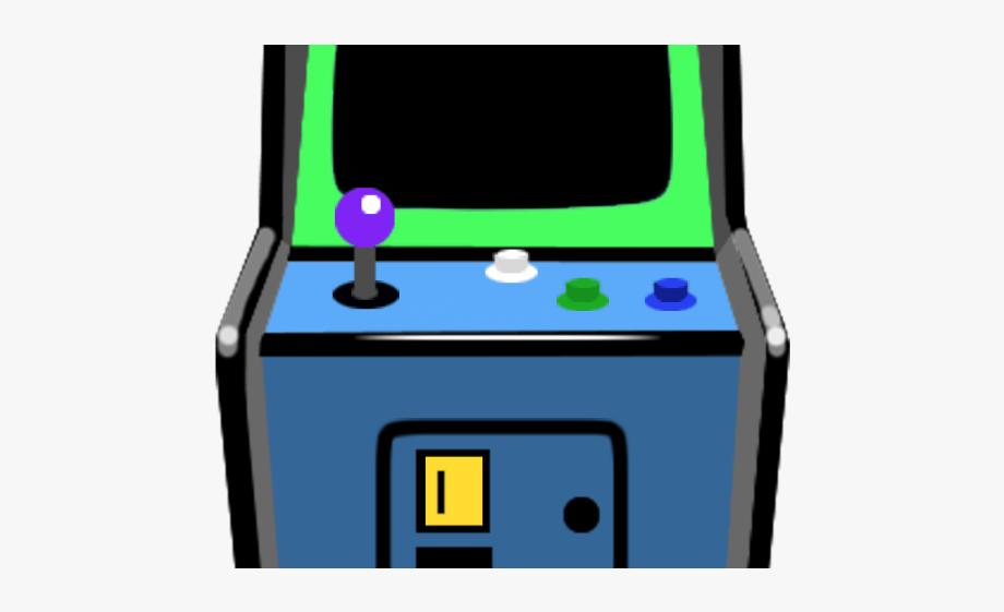 Arcade clipart cartoon. Video game retro png
