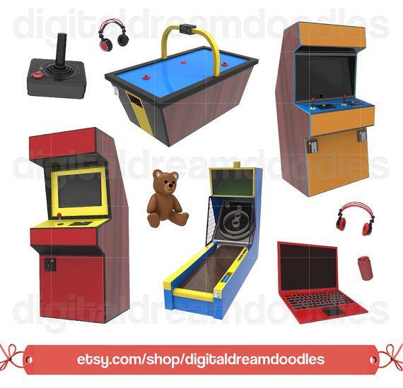 Arcade circus game