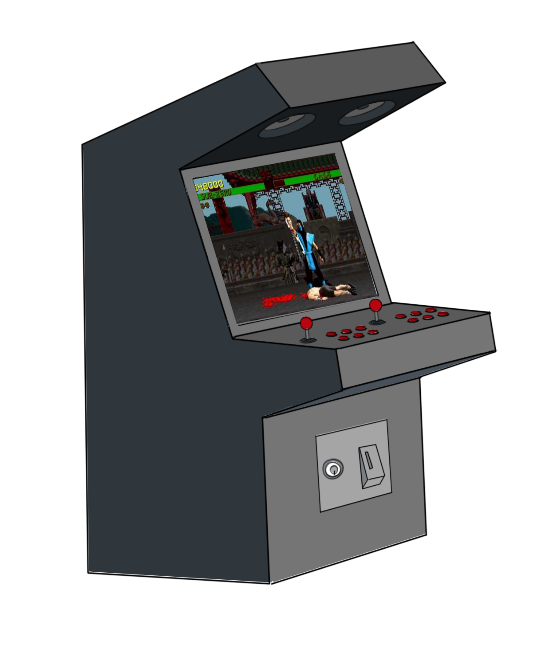 Game clipart video. Free arcade machine clip