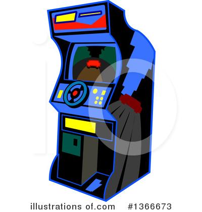 Arcade clipart clip art. Illustration by mascots royaltyfree