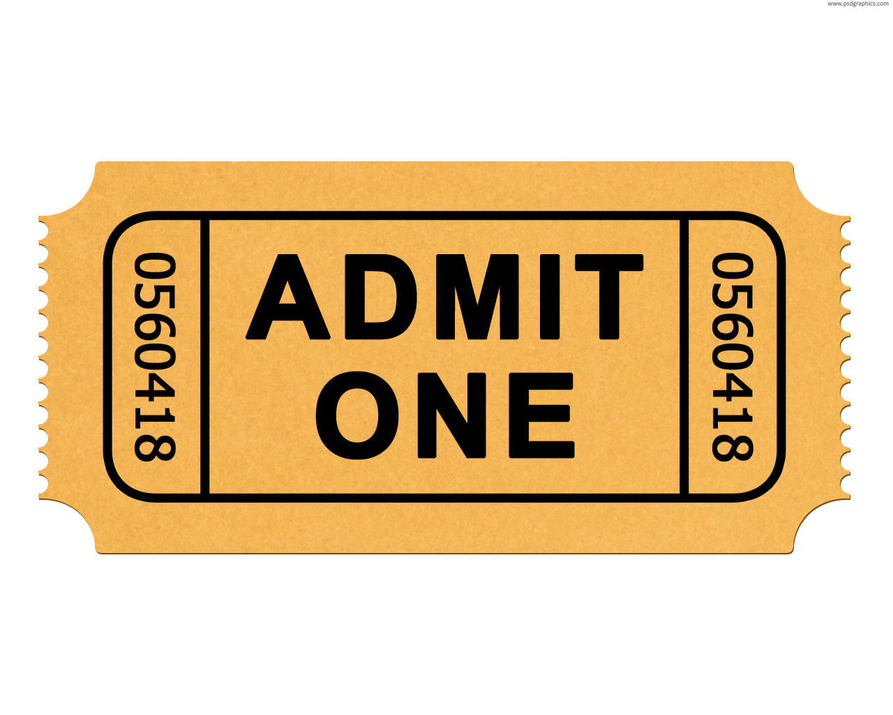 Ticket clipart.  collection of high