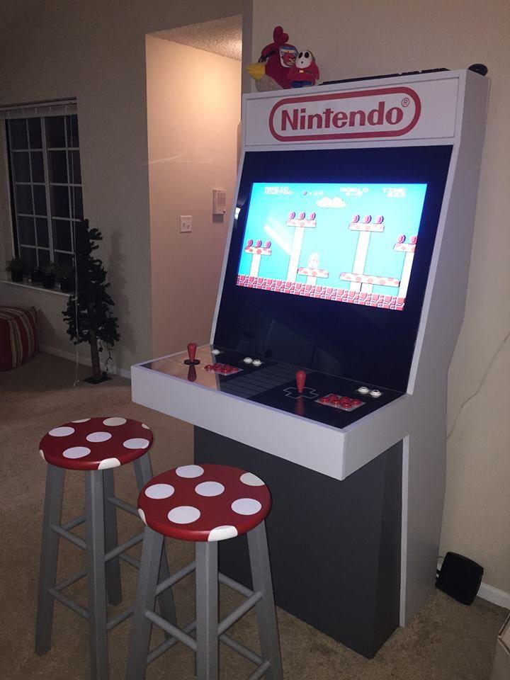 Arcade clipart game room.  best gamer decor