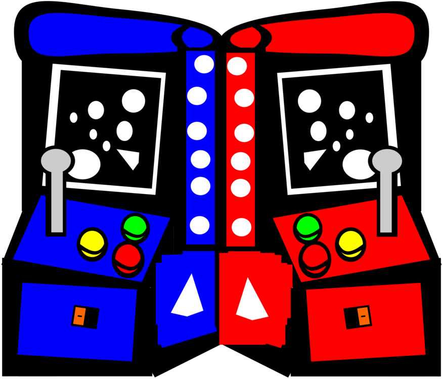 Play area artwork png. Arcade clipart game room