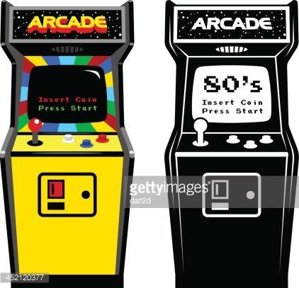Arcade clipart gaming. Game cabinet premium clipartlogo