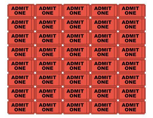Arcade clipart movie ticket. Classy printable admit one