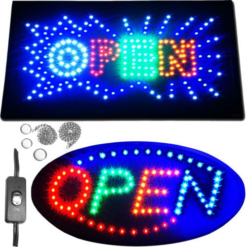 best classic open. Arcade clipart neon sign