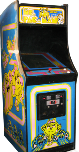 Arcade clipart pacman game. Ms pac man wikipedia