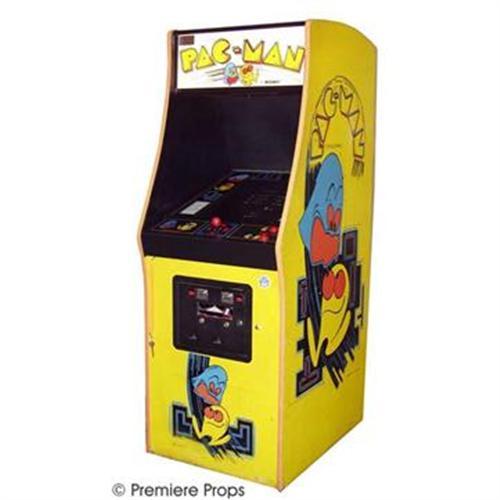 Pac man machine . Arcade clipart pacman game